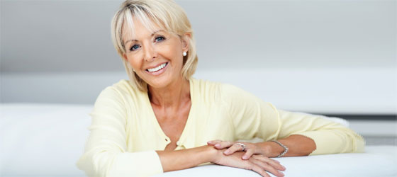 Older Woman Skin Care