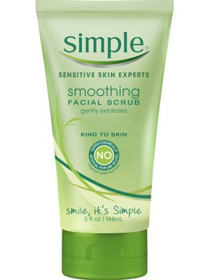 Simple Smoothing Facial Scrub