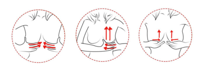 Breast Massage with Breast Actives